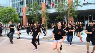RebelFlash   School Spirit Flash Mob To Uptown Funk By Mark Ronson Featuring Bruno Mars