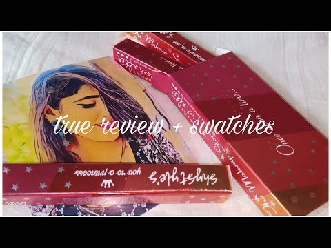 Shy styles the makeup story matte liquid lipstick true review # swatches # on medium skin tone