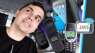 Celulares Antigos, você já teve um celular igual a esse?