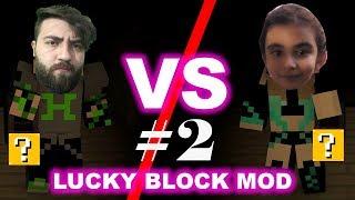 Minecraft Lucky Block Kapışmaları #2 /  Han Kanal vs Boncuk