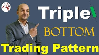 Triple Bottom Trading Pattern Strategy in Hindi: Technical Analysis