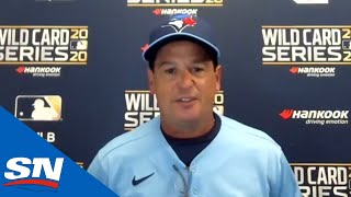 Blue Jays' Charlie Montoyo Says Series Against Rays Was A Great Learning Experience
