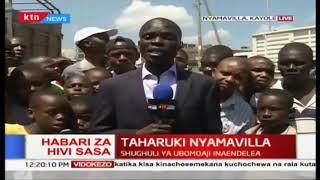 Shughuli ya ubomoaji inaendelea eneo Nyamavilla, mamia waachwa bila makao