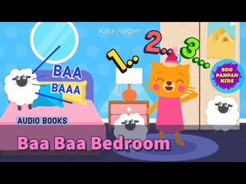 Baa Baa Bedroom (Count Sheep to Sleep) Audiobooks Lingokids |Boopanpan Kids