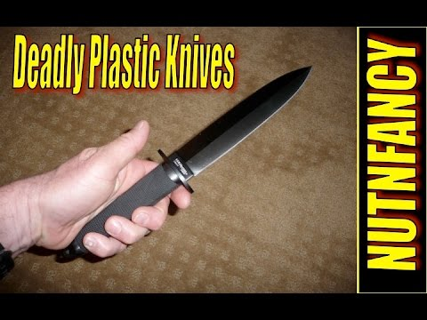 Deadly Plastic Knives (and other plastic weapons of choice)