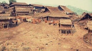 Akha Hill Tribe Village Life-Northern Laos