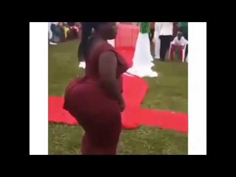 Meet miss Tundra  the woman with the most bigers backside in Ghana