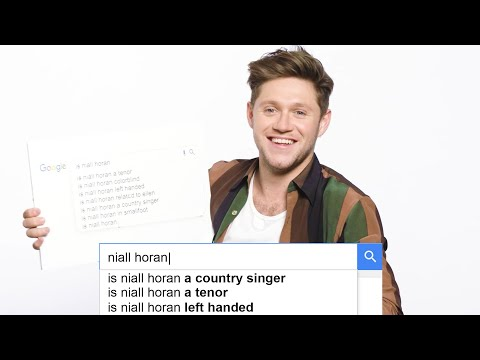 Niall Horan Answers the Web's Most Searched Questions | WIRED