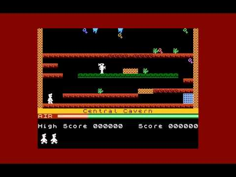 Manic Miner Atari XL/XE W,I,P, Level 1 preview