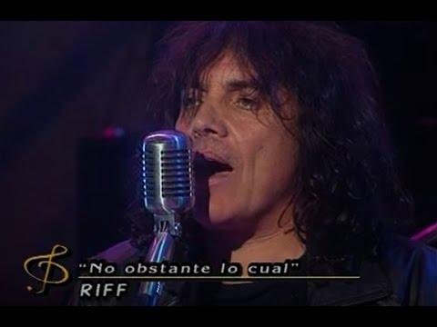Riff video No obstante lo cual - CM Vivo 2000