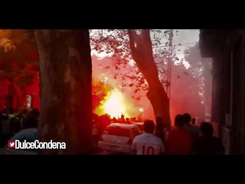 """""""Welcome 79-85 Nacional   Previa y Recibimiento - Hinchada Nacional"""" Barra: La Banda del Parque • Club: Nacional"""