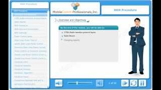 UMTS RRM Procedures (E-Learning Demo)