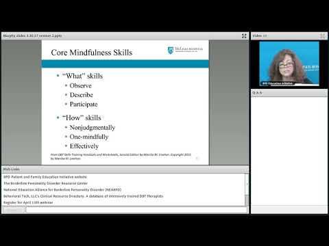 Introduction to DBT Skills Training