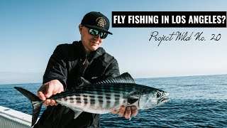Fly Fishing Los Angeles California from Huntington Beach