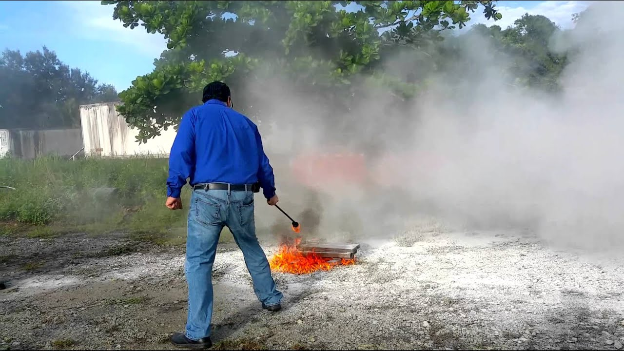 AAR Safety Fire Extinguisher Training