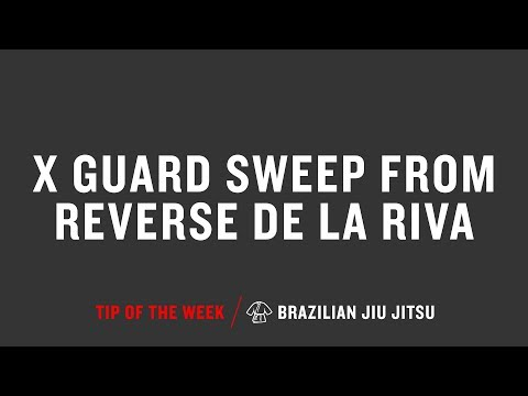 X Guard Sweep From Reverse De La Riva