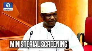 Senate Screens George Akume