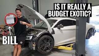 I Bought All NEW Parts for my Wrecked Audi R8! More than I was expecting...