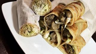 Chicken Malai Boti Roll