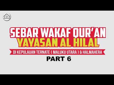 SEBAR WAKAF QUR'AN EKSPEDISI TERNATE & HALAMERA (PART 6
