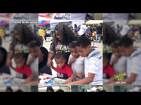 Youth Org Hands Out 500 Free Books at Minneapolis Juneteenth
