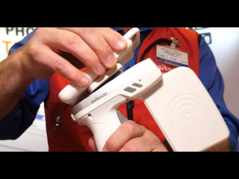 Pocket-sized AsReader Barcode Scanner and GUN-Type RFID Reader
