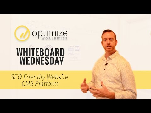 Choosing an SEO-Friendly Website CMS Platform | Whiteboard Wednesdays