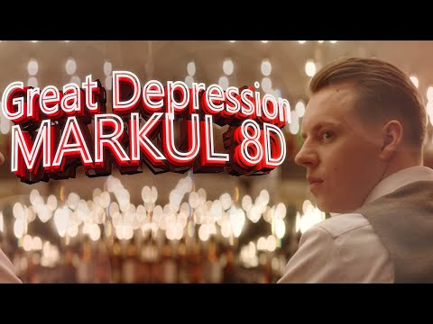 8D НОВЫЙ АЛЬБОМ MARKUL Great Depression 8D AUDIO🎵