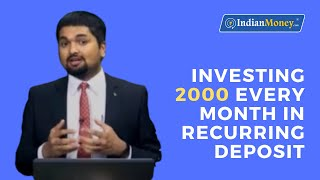Investing 2000 Every Month in Recurring Deposit | RD Account | CNN News18 | C S Sudheer | EP 59