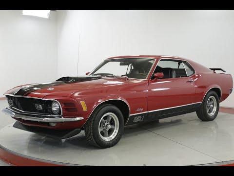 Video of '70 Mustang Mach 1 - Q7C8