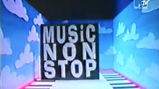 MTV Europe 1993 - Music Non Stop - Intro with Pip Dann
