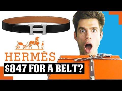 Hermes H Belt Kit Unboxing & Initial Review
