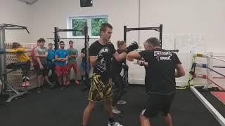 Predstavitev boksa na odprtju Fitnes centra Herkul Gym na Prevaljah