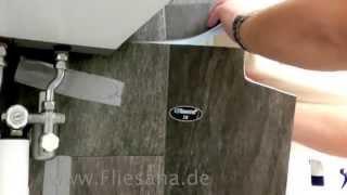 Fliesen verlegen mit Fliesana - Wandfliesen Verlegung Bad - einfach Badfliesen Wand-Laminat verlegen