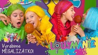 Lollymánie S02E38 - Vyrobte si MEGALÍZÁTKO!