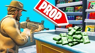COPS vs. ROBBERS in PROP HUNT! (Fortnite)