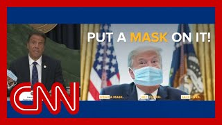 Gov. Andrew Cuomo begs Trump: Just wear the mask