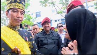 Ibu Musinem di Riau: I Love You Bapak Jokowi