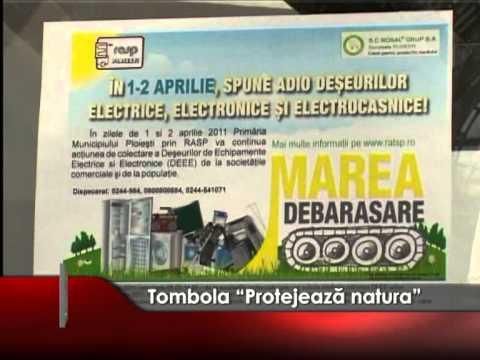 "Tombola ""Protejează natura"""