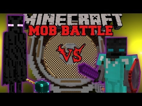 Ender Lord Vs. Walker King - Minecraft Mob Battles - Legendary Beasts and Better Dungeons Mods