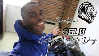 SELU College Move In Day | College Vlog 9 | Tevin Ussin