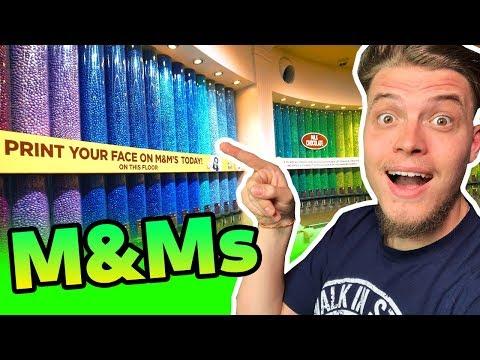 Takto vyzerá NAJVÄČŠÍ M&M  obchod NA SVETE!