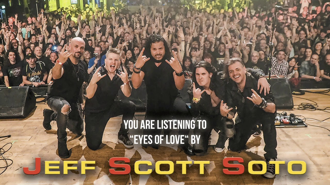 JEFF SCOTT SOTO - Eyes of love (live)