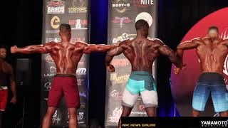 2019 IFBB California  Night Of Champions Mens Physique Comparisons/Awards