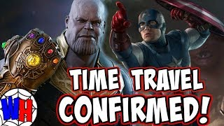 Time Travel Theory CONFIRMED for Avengers 4! | Webhead