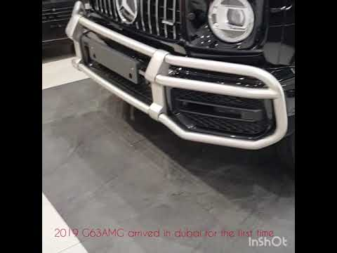 2019 Mercedes G63 AMG at the first time in Dubai