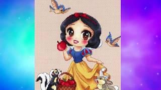 Flosstube Embroidery.com Design Showcase Disney Princess By Les Petites Croix De Lucie