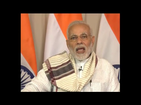 PM Narendra Modi addresses the Shree Cutchi Leva Patel Samaj in Nairobi via Video Conferencing