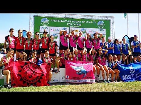 El Club Triatlón Clavería, con la participación del TeamClavería, cierra la temporada con sus triatletas, masculinos y femeninos, en Primera División.