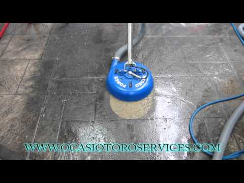 How To Clean Tile And Grout Concrete Hard Surface Tool